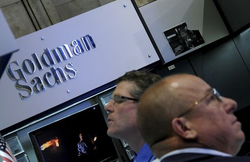 Goldman Sachs Group Booth at the NYSE