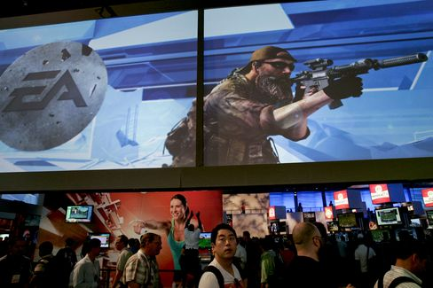 Electronic Arts Jumps the Most in Six Months on Takeover Talk