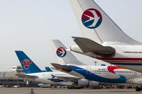 China Southern Airlines and China Eastern Airlines
