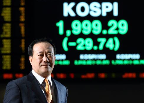 Korea Exchange CEO Kim Bong Soo