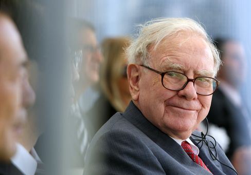 Berkshire Hathaway Inc Chairman and CEO Warren Buffett