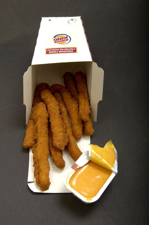 Chicken Fries From Burger King