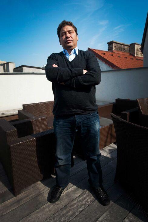 Mustafa Zarti, former financial advisor of Muammar Qadaffi