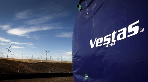 Vestas Said to Consider Rights Offer If Mitsubishi Talks Fail