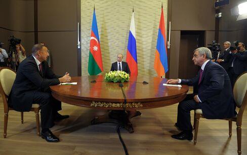 Russia, Armenia and Azerbaijan talks