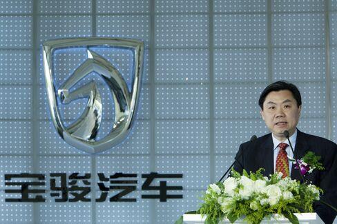 SAIC Motor Chairman Chen Hong