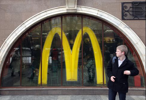 McDonald's Losing Russia Fight Ends Go-It-Alone Strategy