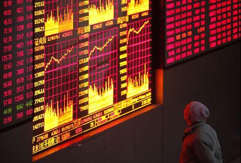 China's Stock Futures Drop, Signaling Benchmark Index Will Fall
