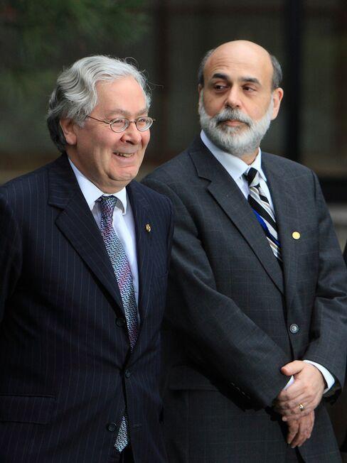 Bernanke Joins King Tolerating Inflation to Revive Economy