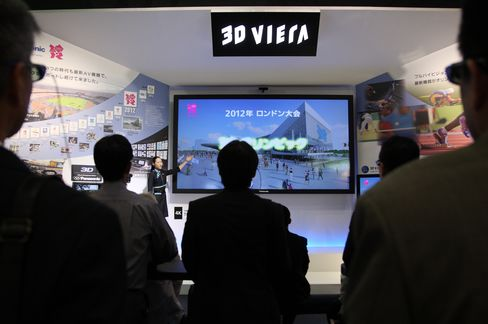 Panasonic Seen Cutting Forecast as TV Makers' Misery Deepens