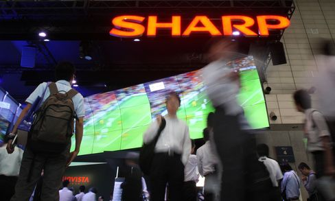 Sharp Shares Rise After Report on Intel Stake Sale