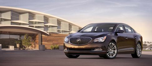 GM Prepares Updated Buick LaCrosse as Distinct from New Impala