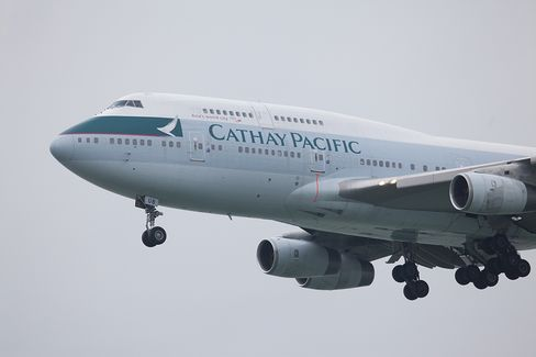 Cathay Says Premium Cabin Sales Weaker Than Expected in December