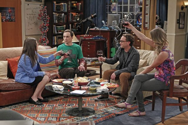 """The party's over for China's """"Big Bang Theory"""" fans.Photographer: Sonja Flemming/CBS via Getty Images"""