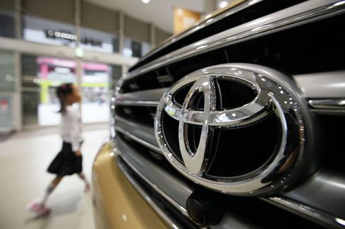 Toyota's First Sales Gain Since April