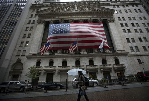 U.S. Stocks Fluctuate as Retail Sales Offset Citigroup Earnings