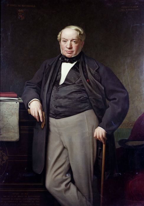 'Portrait of James de Rothschild'