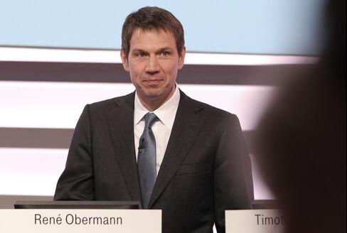 Deutsche Telekom CEO Rene Obermann