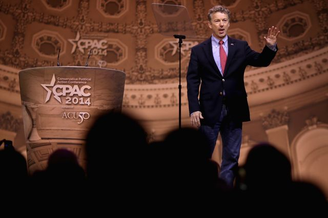 Will Rand Paul be seen as an extremist? Photographer: Chip Somodevilla/Getty Images