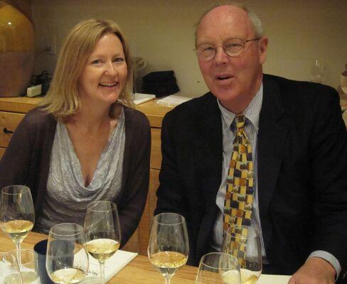 Sarah McCrea and Peter McCrea