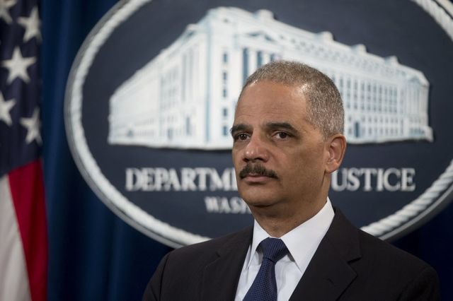 U.S. Attorney General Eric Holder, father of too big to jail?