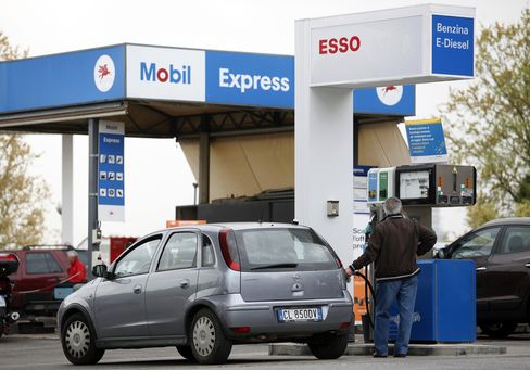 Italians Squeezed by Rising Gas Prices