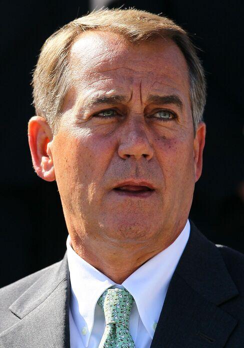 House Minority Leader Republican John Boehner
