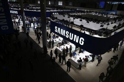 Samsung's $1 Billion Fight With Apple Spurs U.S. Lobbying Push