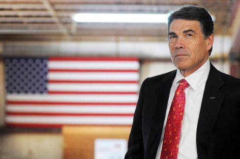 Texas Governor and U.S. Presidential Candidate Rick Perry