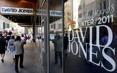 David Jones Seen Luring LBO on Lowest Value Since '04