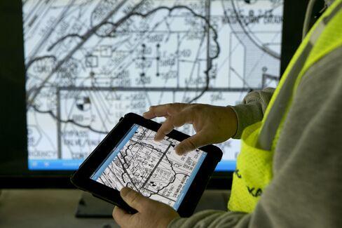 IPads Supplanting Blueprints Raises Builders' Productivity