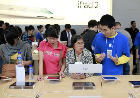 China Becomes Apple's Second-Largest Market By Sales