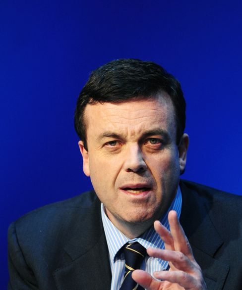 Brian Lenihan, Ireland's finance minister