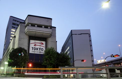 Record Cash Collides With Yen as Topix Valuation Approaches Low
