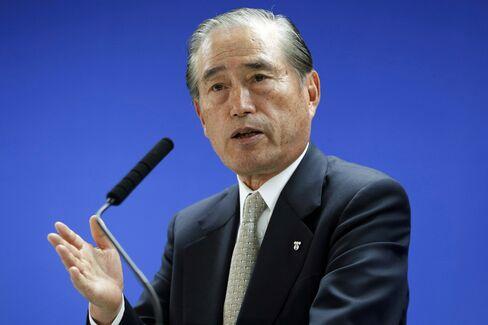 Incoming Chairman of Tokyo Electric Power Co. Fumio Sudo