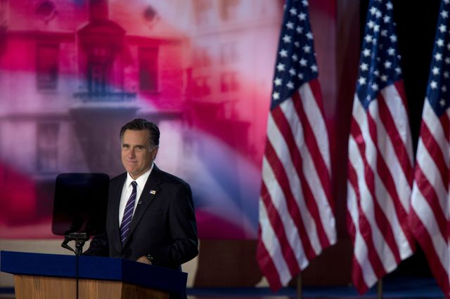 What would Mitt Romney have done differently? Photographer: Andrew Harrer/Bloomberg