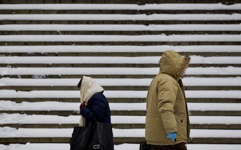 Snow In New York