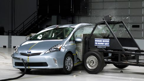 Toyotas Score Best In Crash Tests