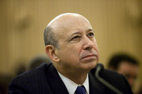 Lloyd Blankfein, CEO of Goldman Sachs Group Inc.