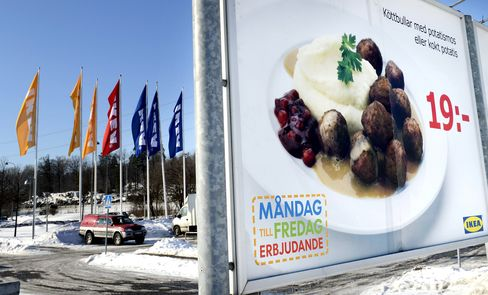 Ikea Withdraws Meatballs Across Europe After Horse-Meat Find