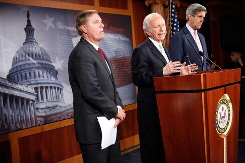 Senators Graham, Lieberman and Kerry