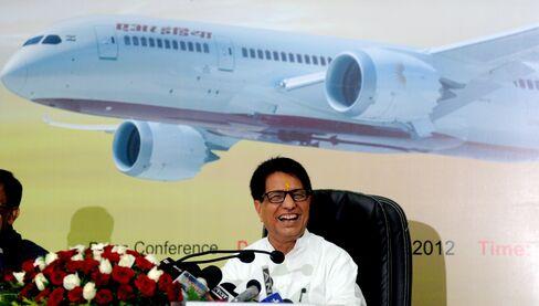 India's Civil Aviation Minister Ajit Singh