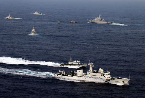 China Escalates Islands Challenge to Japan on Philippine Success
