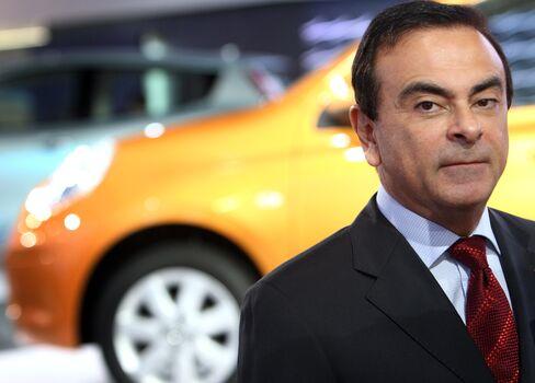 Carlos Ghosn, of Renault SA and Nissan Motor Co.