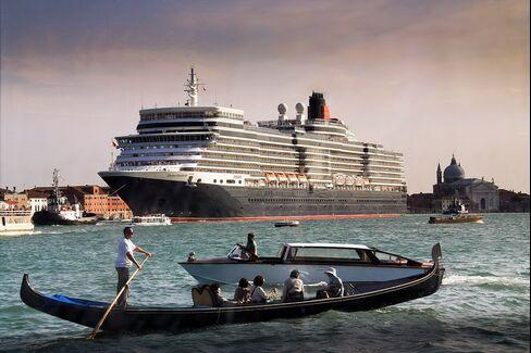 Cruise Route, Venice