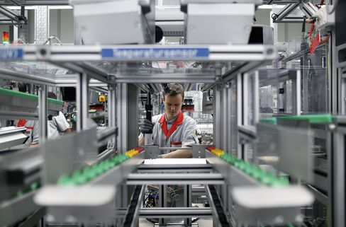 German Factory Orders Unexpectedly Fell in January
