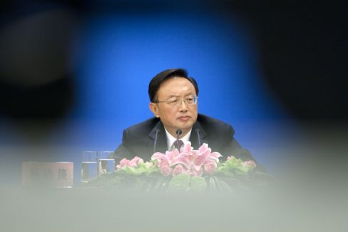 China's Foreign Minister Yang Jiechi