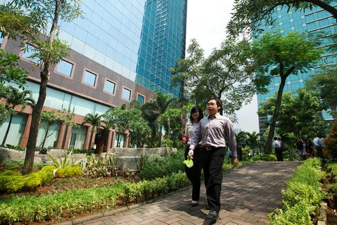 Jakarta Office Rents Surge as DHL, Toyota Invest
