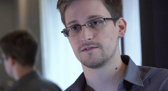 Edward Snowden, PR asset for Russia.Source: The Guardian via Getty Images