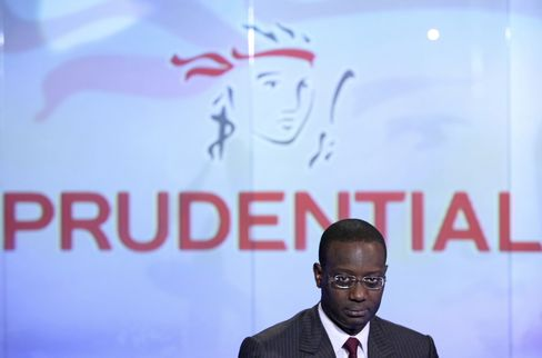 Prudential Plc CEO Tidjane Thiam